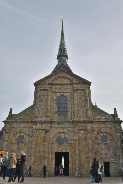 Photo of abbey church