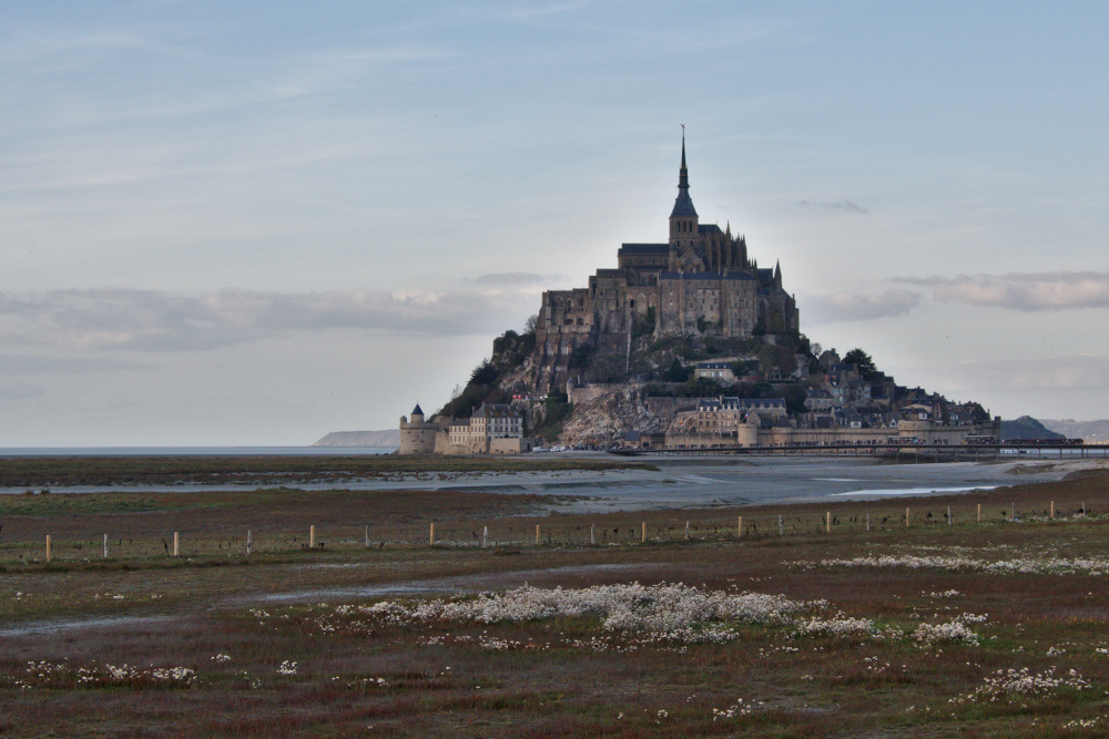 Clear photo of Mont Saint-Michel