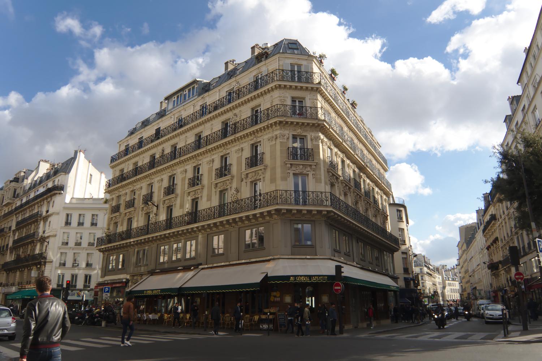 Photo of apartment building in Paris