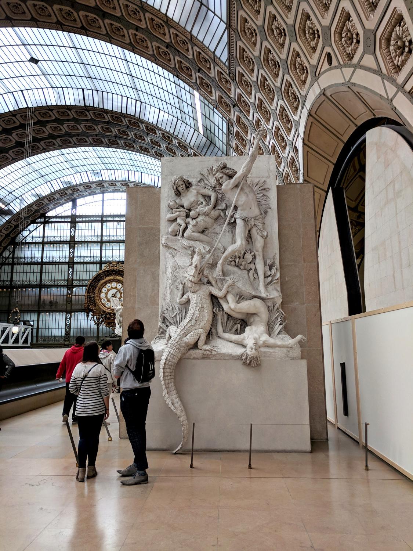 Interior of Musee D'Orsay