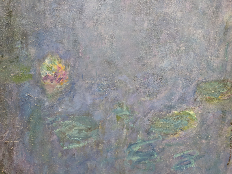Interior of Nympheas exhibit at Musee de L'Orangerie