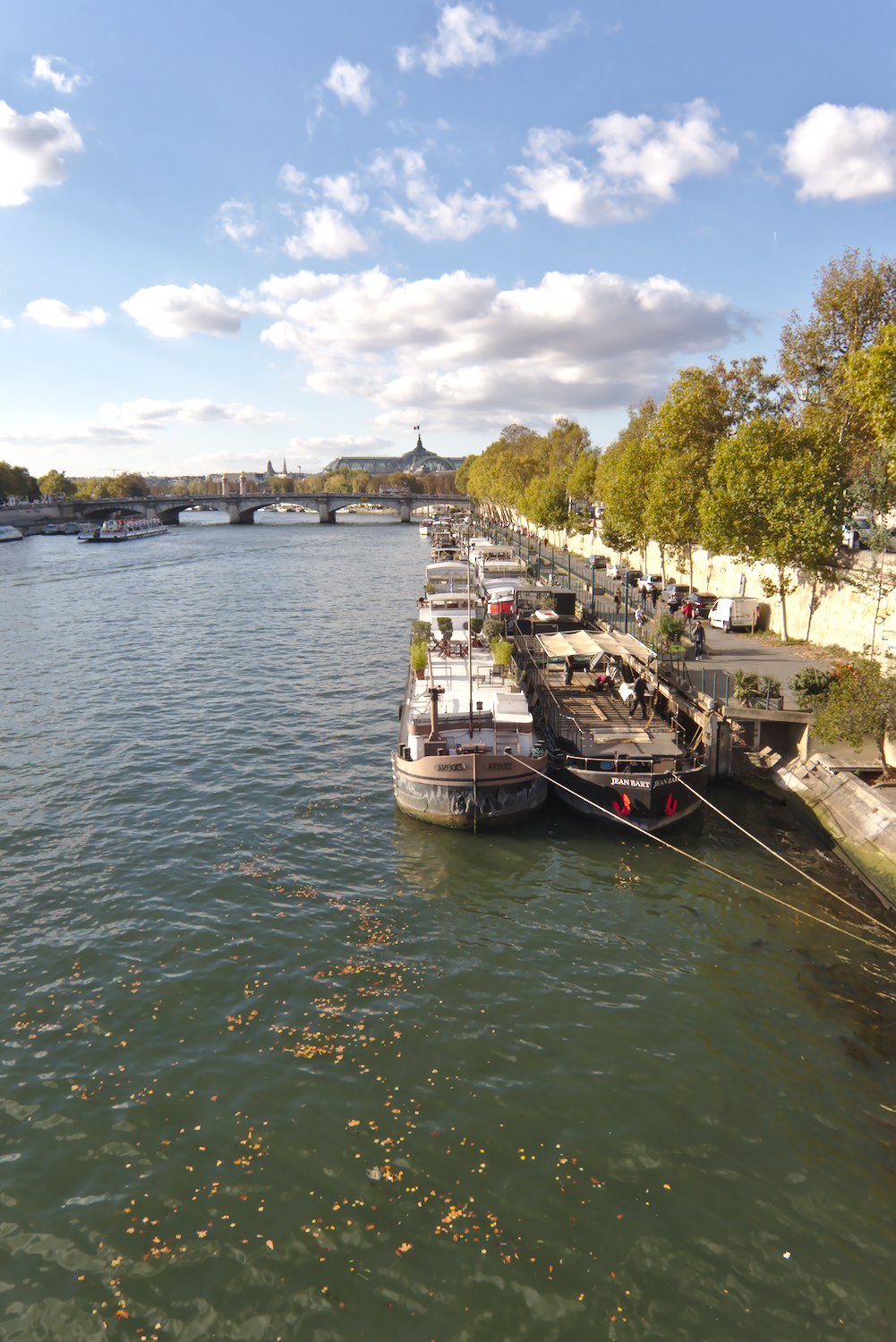 River boats on the Seine